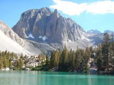 Temple Crag, Big Pine, CA, USA -- part of the Sierra Nevada Mountains (wish I had a photo of the Sonora Pass snowing still in June).