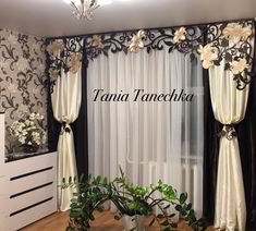 1 million+ Stunning Free Images to Use Anywhere Home Curtains, Modern Curtains, Colorful Curtains, Curtains With Blinds, Valance, Curtain Styles, Curtain Designs, Rideaux Design, Living Room Decor