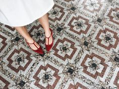 """Kim Jones Share Her Singapore Travel Diary: """"Taking my very own 'Kim Jones x Shoes Of Prey' 'La Dolce Vita' shoe collection out for a spin at Chijmes."""" 