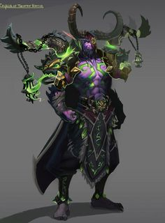 Картинки по запросу demon hunter artstation