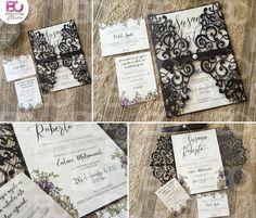 Invitaciones de boda bellas y originales.