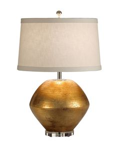 Available at Obelisk Home obeliskhome.com #lamp #decor #homedecor #chic #tablelamp #gold #handmade