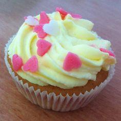 Limonaden-Cupcakes mit Schmandcreme
