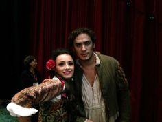 #ScalaTourJapan - 11/09/2013 - Tokyo NHK Hall - Rigoletto - Ketevan Kemoklidze and Alexander Tsymbalyuk at the end of the performance http://www.teatroallascala.org/en/season/tours/2012-2013/japan/rigoletto-giuseppeverdi-2013.html