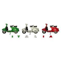 Vespa Ape, Piaggio Vespa, Vespa Scooters, Italian Colors, Italian Art, Italian Style, All About Italy, Scooter Girl, Fiat 500