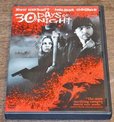 30 Days of Night DVD 2008 Josh Hartnett Melissa George Vampire Alaska