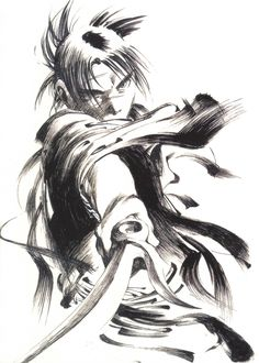 Tags: Blade Of The Immortal, Art Oficial, Manji (Personagem), Samura Hiroaki