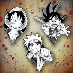 Nenhum texto alternativo automático disponível. Naruto Tattoo, Anime Tattoos, One Piece Tattoos, Mini Tattoos, Dragon Z, Dragon Ball Z, Moon Tattoo Wrist, Tatuagem One Piece, Games Tattoo