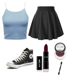 """""""Skater girl"""" by bunnydaisy on Polyvore featuring Converse"""