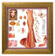 """""""Orange you Gorgeous"""" by mcronald-denise ❤ liked on Polyvore featuring Galliano, Lime Crime, Jimmy Choo, Kate Spade, Charlotte Tilbury, Cathy Waterman, Kendra Scott, Michael Kors, Tory Burch and Pacifica"""