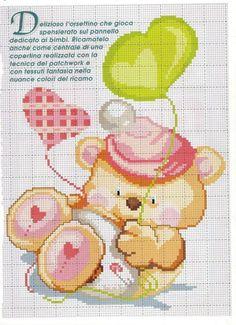 Gallery.ru / Photo # 112 - 2014 & # 945; - Ergoxeiro Cross Stitch Boards, Cross Stitch Baby, Cross Stitching, Cross Stitch Embroidery, Beading Patterns, Cross Stitch Patterns, Fabric Painting, Baby Quilts, Crochet Baby