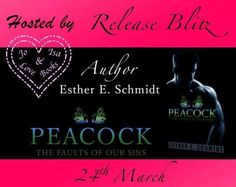 LIVE NOW!!PEACOCK (The Faults Of Our Sins)By Esther E. Schmidt.Hosted by Jo&Isalovebooks Blog  Cover Design: Esther E. Schmidt  Cover model/Photographer: Nathan Hainline  http://ift.tt/2nZW837  Release: March 24th 2017  #MafiaRomance  SYNOPSIS  Going in blind is a rookie mistake. With my years of experience you would think I should know better by now. Im always the capable one that can handle anything thats thrown my way until Karma throws me off my game.  My Karma comes in the form of a…