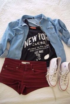 I'm in love with this outfit for the summer!