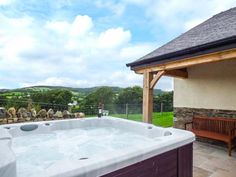 Tyn Y Celyn Uchaf, Ruthin, North Wales and Snowdonia, Wales, Sleeps 6, Bedrooms 3, Self-Catering Holiday Cottage With Hot Tub.
