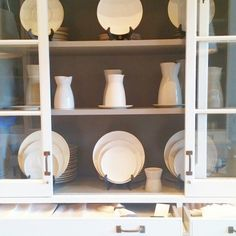 A selection of our hand-crafted ceramics. They look great all in one color or mixed together. Excellent hostess or holiday gifts! Visit us at 1320 9th St. NW, Washington DC or call 202.234.5926 to order. | Darryl Carter Boutique