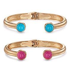Avon | Pacesetter Hinge Bracelet In Turquoise