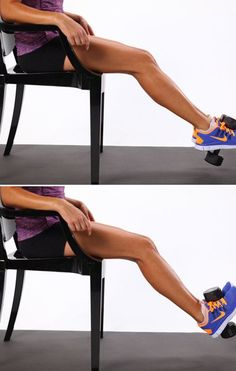 Thigh Exercises For Strong Legs. Might be good to help build back muscle after loosing muscle from surgery.