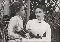 Hellen Keller and Anne Sullivan. Tonight I read to my daughter a book about these amazing ladies. Because we are more than princesses.