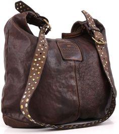 Campomaggi Lavata Hobo Leather dark-brown 38 cm - C1339VL-1701 | Designer Brands :: wardow.com
