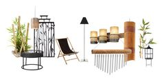 """BAMBOO DECORATION"" by chesyj on Polyvore featuring art"