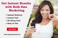 💻📱Bulk Sms Service is most economical & effective medium of marketing. to use set up cost Delivery Security. know more make a call #
