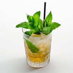 The Mint Julep — this cooling cocktail is traditional for Kentucky Derby Day.