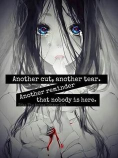 It's an empty soul Sad Anime Quotes, Manga Quotes, Learn To Fight Alone, Suicide Quotes, Dark Quotes, The Ugly Truth, Depression Quotes, It Gets Better, True Feelings