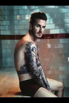 David Beckham H New