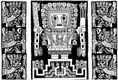 Viracocha Calendar - Ancient Time Keepers, Part Archaeoastronomy — World… Aliens And Ufos, Ancient Aliens, Ancient Art, South American Art, Native American Art, Machu Picchu, Aztec Pictures, Inca Art, Peruvian Art