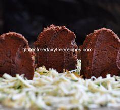 Tombstone Brownies - GF DF & Refined Sugar Free