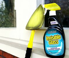 Stop using streaky glass cleaners! Invisible Glass is the only residue free glass cleaner for your home and car. Window Cleaning Tips, Car Cleaning Hacks, Cleaning Supplies, Invisible Glass Cleaner, Window Cleaner, Spring Cleaning, Tools, Cleaning Agent, Appliance