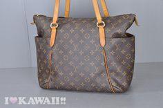 Authentic Louis Vuitton Monogram Totally MM Shoulder Bag M41015