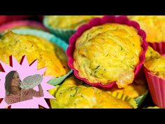 MUFFINS SALATI zucchine e Provola Ricetta Facile - Savoury Muffin with Zucchini and Provolone Recipe - YouTube
