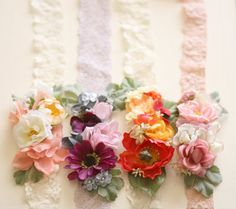 Infant Floral Crown Newborn to 12 Months