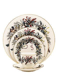 lenox winter greetingsso many recent christmas memories with my christmas dishes