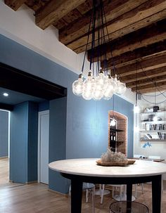 LED pendant #lamp SIMPLE by Olev by CLM Illuminazione