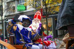 Hollande - fête de saint Nicolas et de zwarte-piet ( Zwarte Piet, père fouettard)