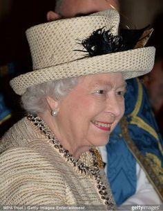 Queen Elizabeth, March 9, 2015 in Angela Kelly | Royal Hats
