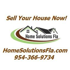 http://www.HomeSolutionsFla.com is a South Florida based company of trusted, caring professionals that help solve real estate problems for home owners, fast and easy. We buy-sell houses in south Florida fast. We focus only in South Florida so we can solve home owner problems face to face!