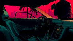 Image result for new retro wave wallpaper
