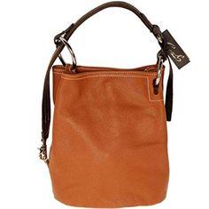 Kuvahaun tulos haulle caspiel handbags CATS 1187 rustic orange leather spanish leather