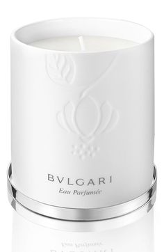 BVLGARI 'Eau Parfumée au thé blanc' Candle available at #Nordstrom