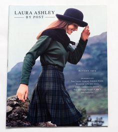 RARE VINTAGE US LAURA ASHLEY BY POST Autumn 1994 Fashion Catalogue 60pp