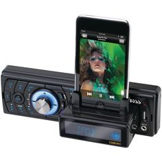 nice Boss Audio In-Dash Digital Media Receiver with Built-In iPod Docking Station (Discontinued by Manufacturer) With Discounts Boss Audio, Car Audio, Usb, Bluetooth, Ipod Dock, Online Cars, Gadgets And Gizmos, Docking Station, Audio System
