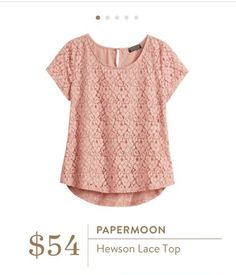 Papermoon Hewson Lace Top Stitchfix