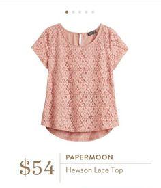 Papermoon Hewson Lace Top Stitchfix