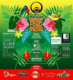 LULADA FEST presenta COMITIVA FOOD TRUCKS una tarde mágica llena de música amigos mascotas y lo mejor de la comida sobre ruedas de la ciudad en uno de los sitios más exclusivos y hermosos del sur de Cali Garden Lounge. Pre-venta (hasta mayo 27): $10.000  cerveza Heineken. Dia del evento: $15.000  cerveza Heineken Entrada libre para niños y mascotas hasta las 9PM. Compra tu boleta en PEP UP! #foodtrucks #foodtrailer #streetfood #foodonwheels #decalisehablabien #cali #calico #cali #caliescali…