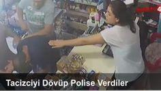 Tacizciyi Dövüp Polise Verdiler