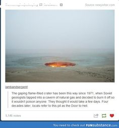 This is what happens when sam and dean decide to not close the gates of hell....