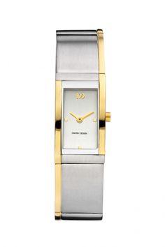 Danish Design IV65Q1122 Titanium Bi Color Dames horloges